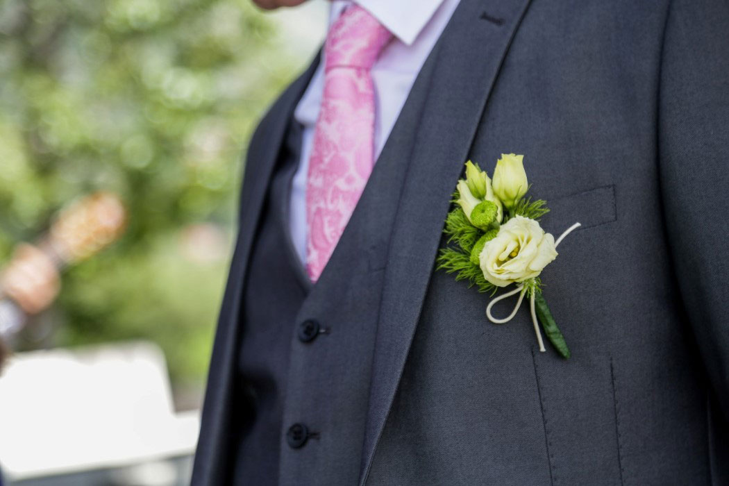 kefalonia weddings buttonholes
