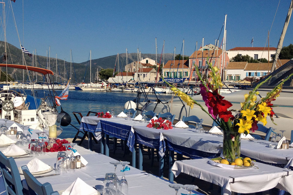 kefalonia wedding receprion venues tasia restaurant fiscardo01